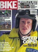 Bike June 1992  RC30 Ducati 851 CBR900RR Kawasaki ZXR-R Yamaha EXUP GSX-R1100