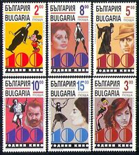 Bulgaria 1995 Films/Cinema/Disney/Chaplin 6v set n28846