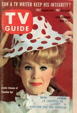 1962 TV Guide April 21 - Connie Stevens; Rod Serling; Leslie Nielsen;Joan Taylor