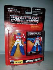 Transformers Heroes of Cybertron Optimus Prime Axe Variant Generation One PVC