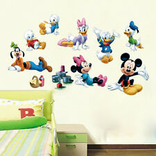 Huge MICKEY MOUSE CLUBHOUSE Removable WALL STICKER Decal Mural Kids Room Decor