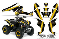 Can-Am Renegade Graphics Kit by CreatorX Decals Stickers TOP FUEL YB