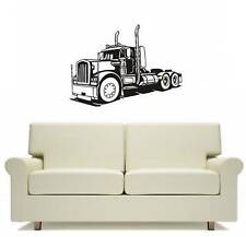 Truck Big Rig Wall Art Sticker Decor Free Postage Large