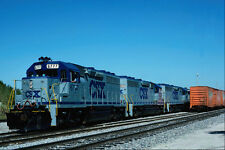 578091 CSX EMD 6777 With Tropicana Juice Train Bradenton FL A4 Photo Print