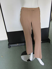 Brand New NEXT TAILORED Light Brown Trousers W/Zip Pocket Detail UK18 RRP£38.00