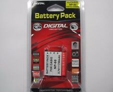 CASIO NP-60 Replacement Battery Li-Ion 3.7V 750mAh by Digital Sunflash