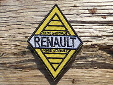 ECUSSON PATCH THERMOCOLLANT aufnaher toppa RENAULT voiture automobile sport auto