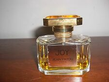 VINTAGE JOY JEAN PATOU PARIS 1.6 OZ EAU DE TOILETTE SPRAY 1/3 FULL