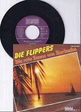 """Die Flippers, Die rote Sonne von Barbados, VG+/VG+ 7"""" Single 0904-9"""