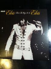 ELVIS PRESLEY:THAT'S THE WAY IT IS (1970 Album RCA CD Inc. Just Pretend - NEW