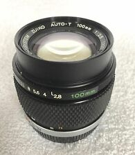 Zuiko 100mm f2.8 Prime Lens- Near Mint