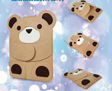 Cute Felt Bag Sleeve Case For Macbook Laptop Air/Pro/Retina 13'' case Teddy Bear
