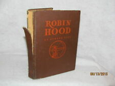 Antique Book - Robin Hood by Howard Pyle