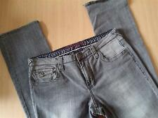 Damen Jeans  Hose Blue Fire Positano Gr 40 W31 L34 grau Stretch Cotton
