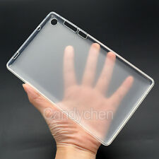 "Silicone Gel TPU Back Case Cover + LCD Film For 7"" Lenovo Tab3 7 730M/F Tablet"