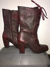DKODE Ladies Size 35 Leather Boots