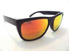 Electric Visual Flip Side Gloss Black / Grey Fire Chrome Sunglasses