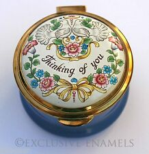 Staffordshire Enamels Thinking Of You Enamel Box