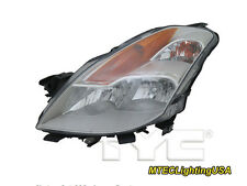 TYC NSF Left Side Xenon HID Headlight Lamp for Nissan Altima Coupe 2008-2009