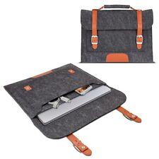 Filztasche für Microsoft Surface Pro 3 Sleeve Schutzhülle Tasche Grau und braun