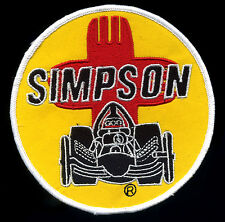 Simpson Racing Patch badge Drag Race Parachutes hot rod