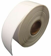 """30252 White Labels, 1-1/8""""x3-1/2"""" compatible with Dymo LabelWriter printers."""
