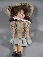 """Antique Porcelain Bisque Doll 15"""""""