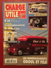 CHARGE UTILE n°34 - Cars FLECHER Berliet Dumpers et VMA LATIL Odoul et Fils