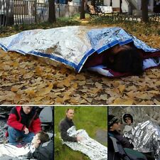 New Outdoor Camping Emergency Warm Heat Waterproof Survival Sleeping Bag Blanket