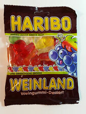 HARIBO WEINLAND - CANDY WINE GUMS 7oz - 200g - MADE IN GERMANY -