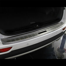 Stainless steel Rear Bumper Protector sill plate cover  For 16-17 Kia Sportage
