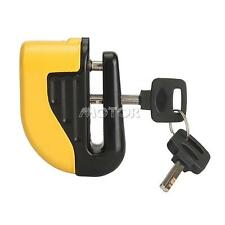 Yellow Brake Disc Lock Secrity Alarm for Honda Shadow Aero Phantom VLX 750 1100