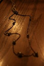 Antique Gold Tone Pearl Necklace
