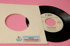"STEVE ROGERS BAND VASCO ROSSI 7"" ALZATI LA GONNA ORIG J BOX 1988 EX CON STICKER"