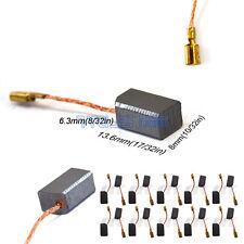 20 Pcs Motor Carbon Brushes 6.3 x.8 x 13.6mm for Dewalt 100mm Angle Grinder
