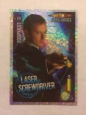 DOCTOR WHO- ALIEN ARMIES-GLITTER FOIL G10 LASER SCREWDRIVER- MINT