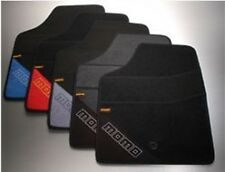 """MOMO UNIVERSAL FLOOR MATS T1000 TYPE """"A"""" black and blue"""