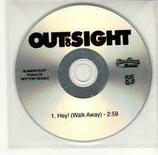 (GO398) Out of Sight, Hey! (Walk Away) - DJ CD