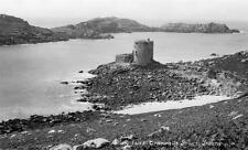 Cromwell Tower Tresco Scilly Isles RP old pc Gibson
