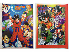 Dragon Ball Z Goku Vegeta Trunks Gohan Goten Anime Set of 2 Poster Rare New Lot