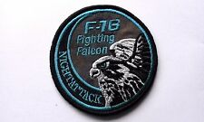 PATCH F-16 FIGHTING FALCON night attack