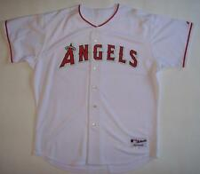 Anaheim Angels 2004 Majestic Authentic White Prototype Jersey Set 1
