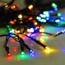 60LED Solar String Fairy Light MultiColor Waterproof Wedding Holiday Party Decor