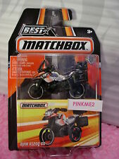 2016 MATCHBOX Best of World BMW 1200 GS motorcycle☆Chrome/Black☆mb892☆Series 1