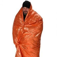 NDuR orange & silver EMERGENCY SURVIVAL BLANKET new # 61425