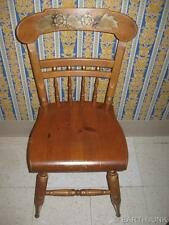 Ethan Allen Country Craftsman Pine Hand Decorated Hitchcock Chair 14 6120