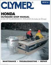 CLYMER HONDA OUTBOARD BF20 2-130 HP 4 STROKE SHOP SERVICE REPAIR MANUAL '76-'05