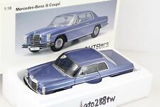 AUTOart 1:18 scale Mercedes-Benz /8(Strich 8) 280C Coupé 1973(W114/W115) - Blue