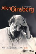 Allen Ginsberg: A Biography by Barry Miles, 2000 Virgin Books paperback