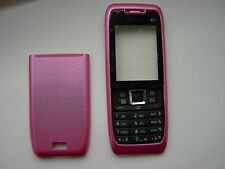 NOKIA 3 PARTS COVER CASE FOR E51 PINK FRONT & BACK & KEYPAD